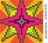Colorful Pattern For Beads With ...