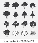 tree icon | Shutterstock .eps vector #226306594