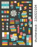 collections of info graphics... | Shutterstock .eps vector #226322104
