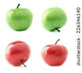 apple fruit artificial plastic... | Shutterstock . vector #226346140