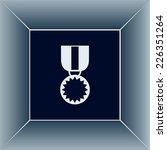 vector illustration of medal    Shutterstock .eps vector #226351264