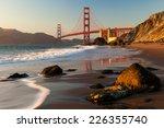 Golden Gate Bridge Is Shown On...