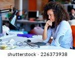 successful business woman... | Shutterstock . vector #226373938