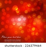 abstract glowing background | Shutterstock .eps vector #226379464