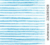 blue crayon stripes pattern | Shutterstock .eps vector #226385428