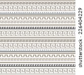 tribal art greece vintage... | Shutterstock .eps vector #226404229