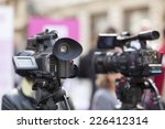 covering an event with a video... | Shutterstock . vector #226412314