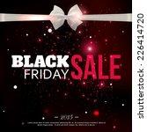 black friday sale background... | Shutterstock .eps vector #226414720