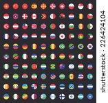 flag of world. vector icons | Shutterstock .eps vector #226424104
