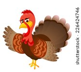 thanksgiving day  cartoon... | Shutterstock .eps vector #226424746