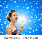 party  drinks  winter holidays  ... | Shutterstock . vector #226441750