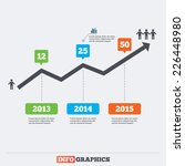 timeline infographic elements.... | Shutterstock .eps vector #226448980