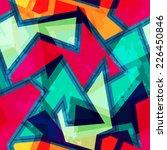 urban geometric seamless... | Shutterstock . vector #226450846
