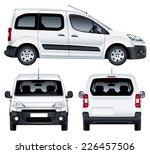 vector service car. white blank ... | Shutterstock .eps vector #226457506