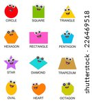 collection of colorful...   Shutterstock .eps vector #226469518