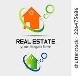 real estate symbol  | Shutterstock .eps vector #226475686