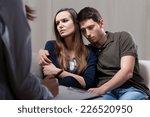 horizontal view of sad marriage ... | Shutterstock . vector #226520950