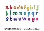 vector set of handwritten...   Shutterstock .eps vector #226532563