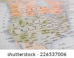 United states map  geographical ...