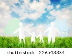 concept of happy family having... | Shutterstock . vector #226543384