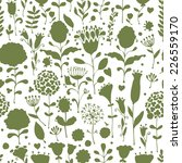 floral pattern sketch for your... | Shutterstock .eps vector #226559170