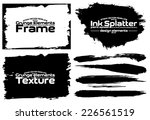 design template. abstract... | Shutterstock .eps vector #226561519