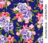 seamless exotic pattern with... | Shutterstock .eps vector #226561984