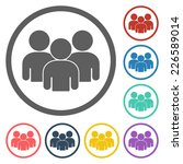 group people icon | Shutterstock .eps vector #226589014