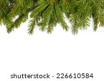 christmas green framework... | Shutterstock . vector #226610584