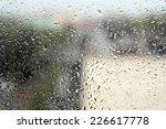 on a summer raining day. drops... | Shutterstock . vector #226617778