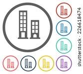 building icon | Shutterstock .eps vector #226618474