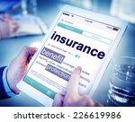 digital dictionary insurance... | Shutterstock . vector #226619986