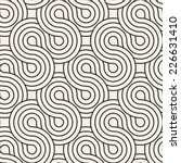 vector seamless pattern.... | Shutterstock .eps vector #226631410