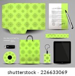 stationery set design | Shutterstock .eps vector #226633069