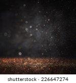 Dark Glitter Vintage Lights...