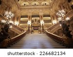 Постер, плакат: Opera Garnier stairway interior
