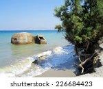 old defensive bunker near... | Shutterstock . vector #226684423