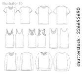 vector illustrations of various ... | Shutterstock .eps vector #226693690