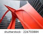 chicago red | Shutterstock . vector #226703884
