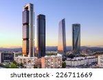 madrid  spain financial... | Shutterstock . vector #226711669