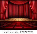 cinema or theater scene with a... | Shutterstock .eps vector #226722898