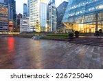 modern business office building ... | Shutterstock . vector #226725040
