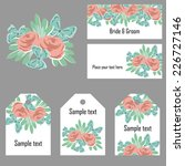 abstract flower background with ... | Shutterstock .eps vector #226727146