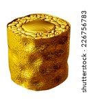 golden sushi  california roll | Shutterstock . vector #226756783