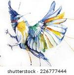 watercolor style vector... | Shutterstock .eps vector #226777444