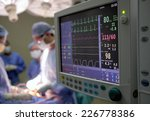 heart monitor in hospital...   Shutterstock . vector #226778386