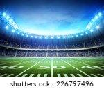light of american stadium | Shutterstock . vector #226797496