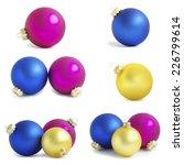 christmas balls    Shutterstock . vector #226799614