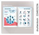 ebola virus prevention brochure ...   Shutterstock .eps vector #226823236