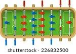 football table vector... | Shutterstock .eps vector #226832500